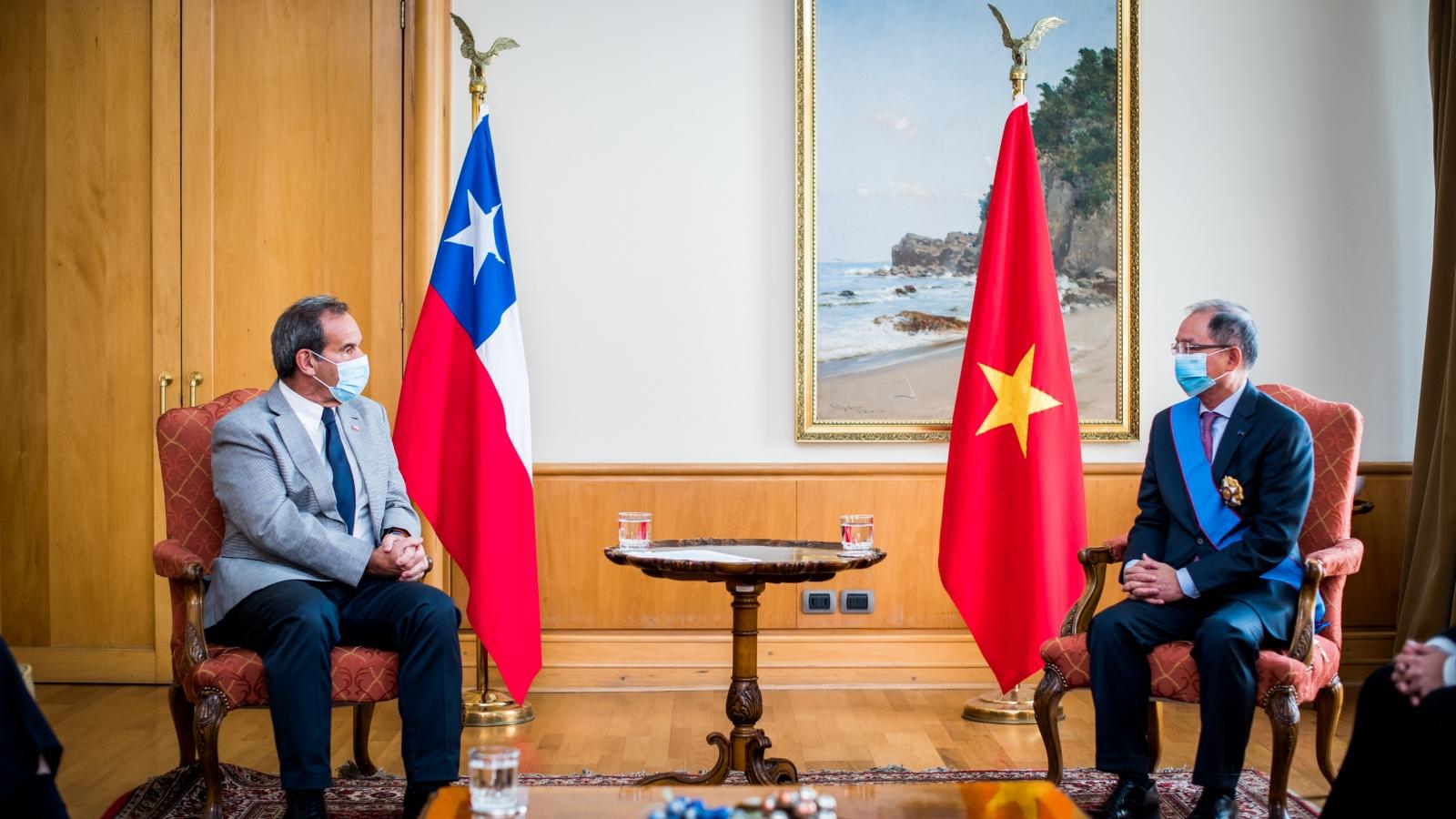 Kỷ niệm 50 năm ngày thiết lập quan hệ Ngoại giao Việt Nam – Chile