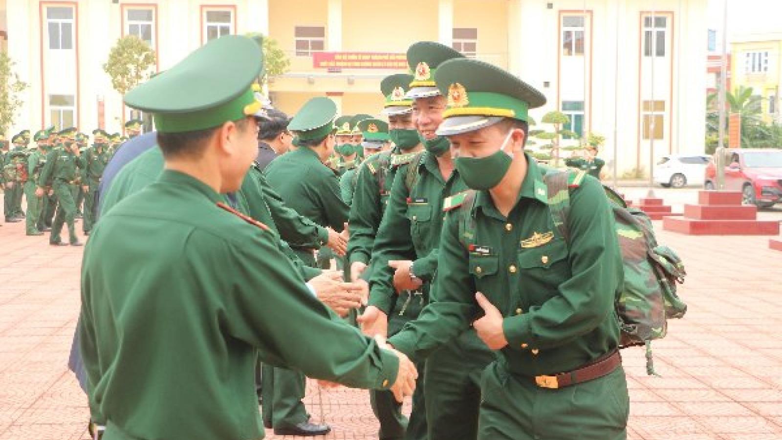 70 cán bộ, chiến sĩ BĐBP Hải Phòng được điều động phòng chống dịch tại biên giới Tây Nam