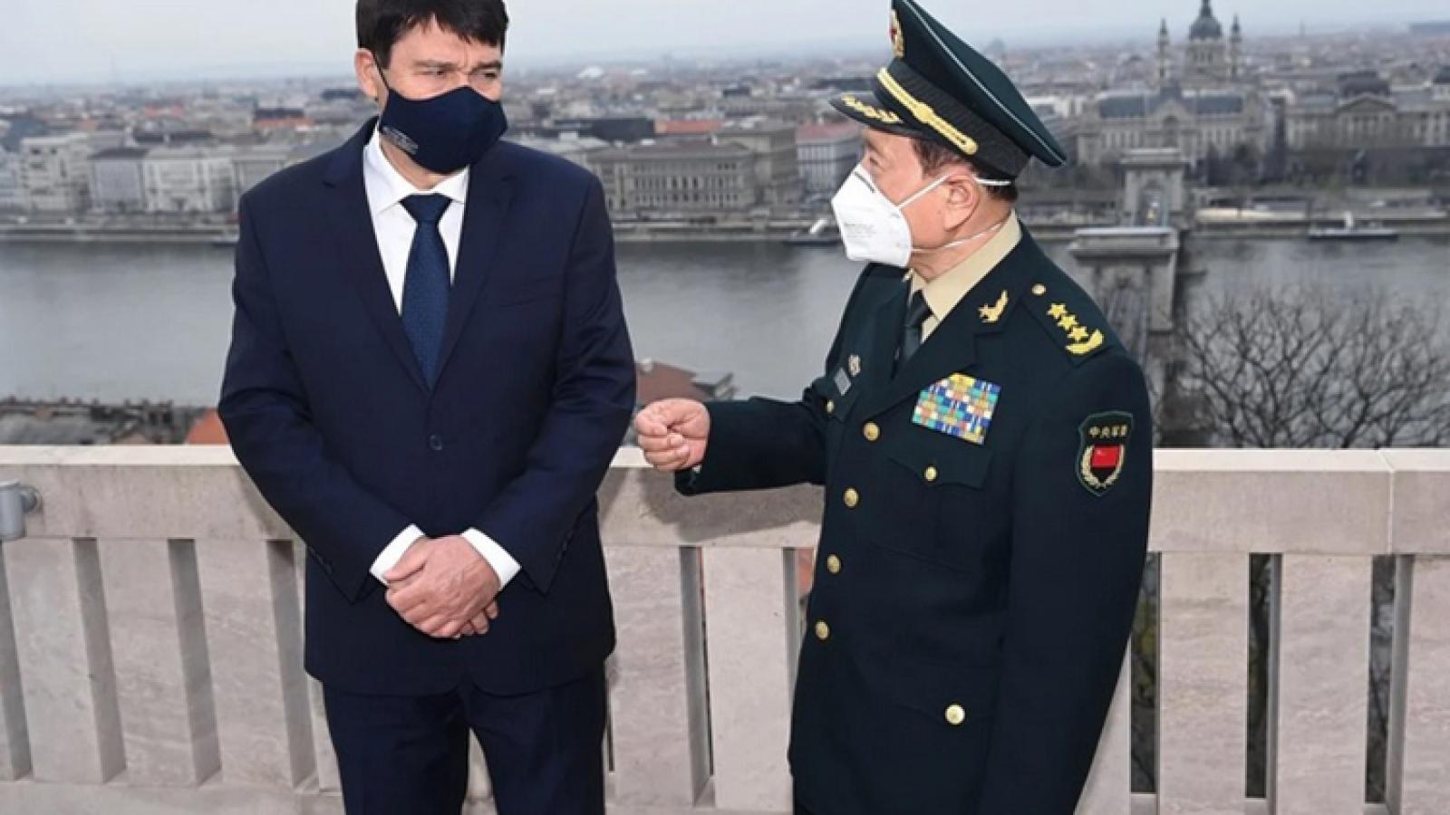 Trung Quốc đẩy mạnh ngoại giao quốc phòng tại châu Âu