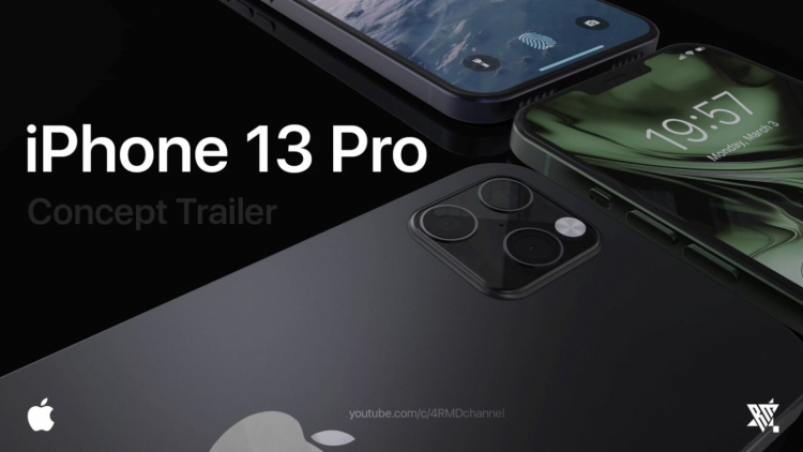 Ngắm vẻ đẹp iPhone 13 Pro đa màu sắc trong ý tưởng thiết kế