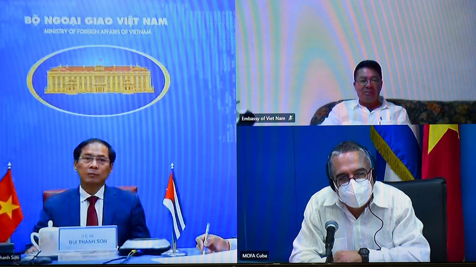 Việt Nam và Cuba tổ chức phiên Tham khảo chính trị cấp Thứ trưởng Ngoại giao