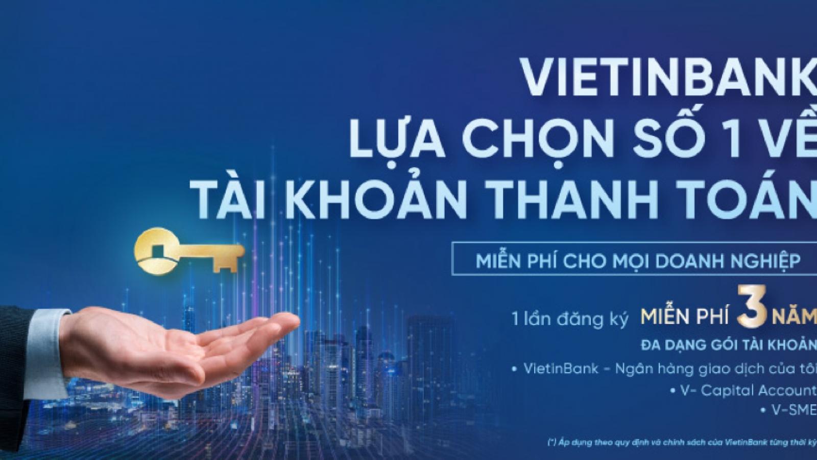 VietinBank miễn 20 loại phí cho doanh nghiệp