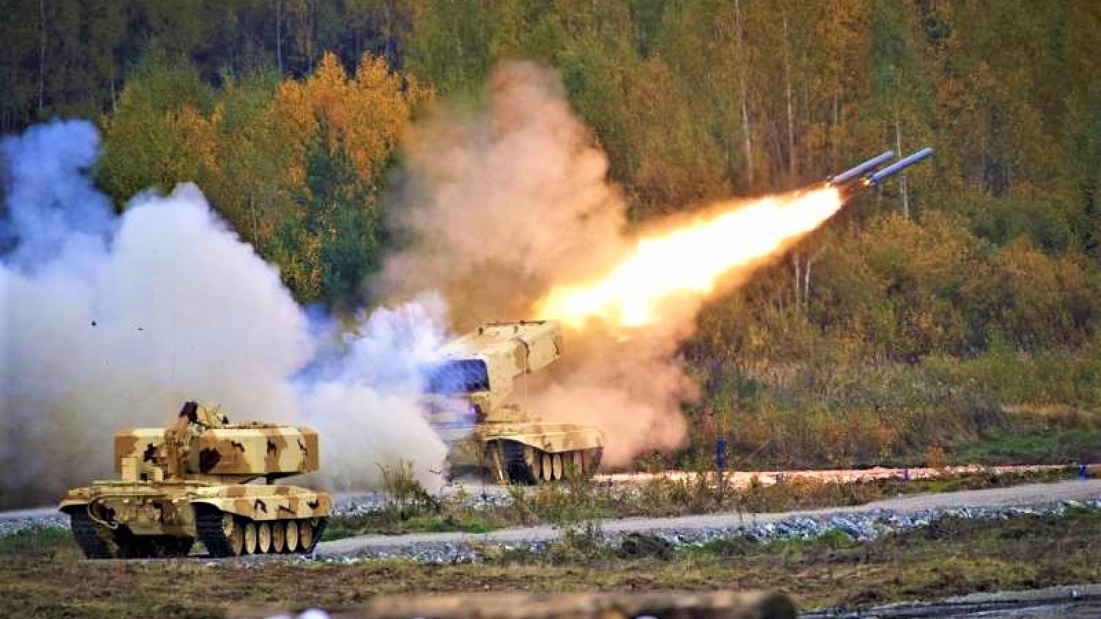 Triển vọng hiện đại hóa các hệ thống phun lửa hạng nặng Nga