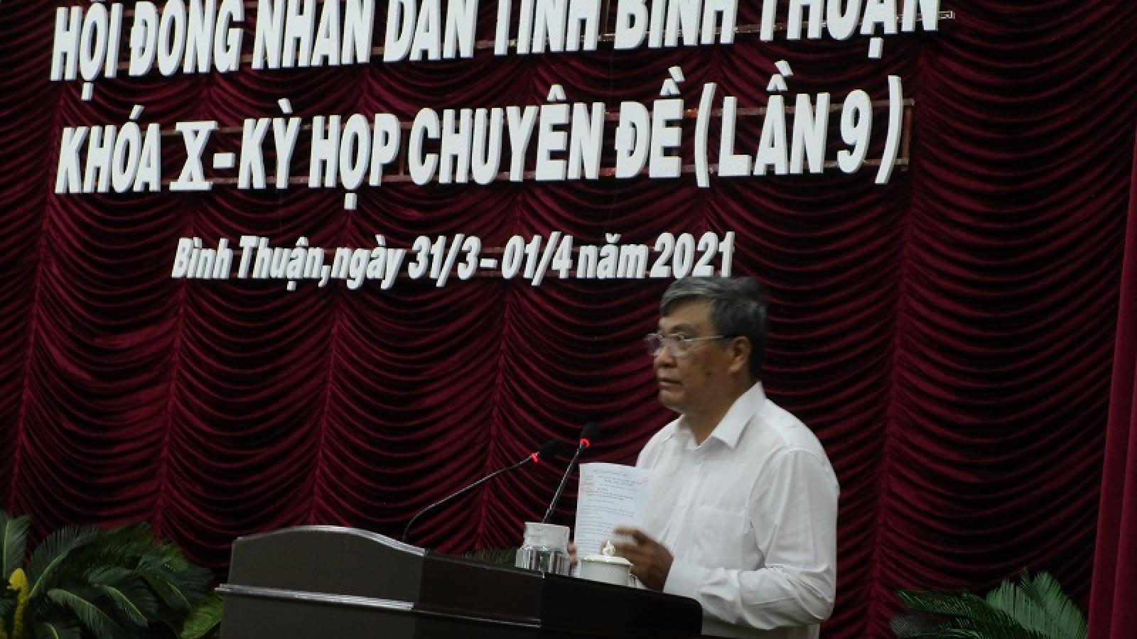 Giám đốc Sở Kế hoạch và Đầu tư được bầu làm Phó Chủ tịch UBND tỉnh Bình Thuận