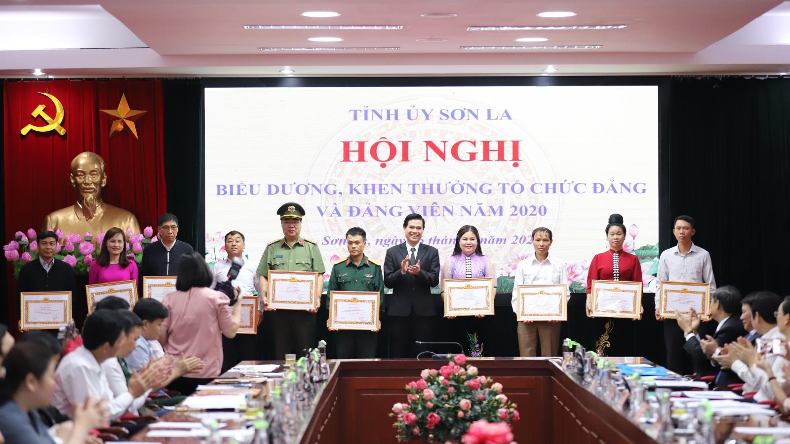 Sơn La biểu dương tổ chức đảng và đảng viên xuất sắc