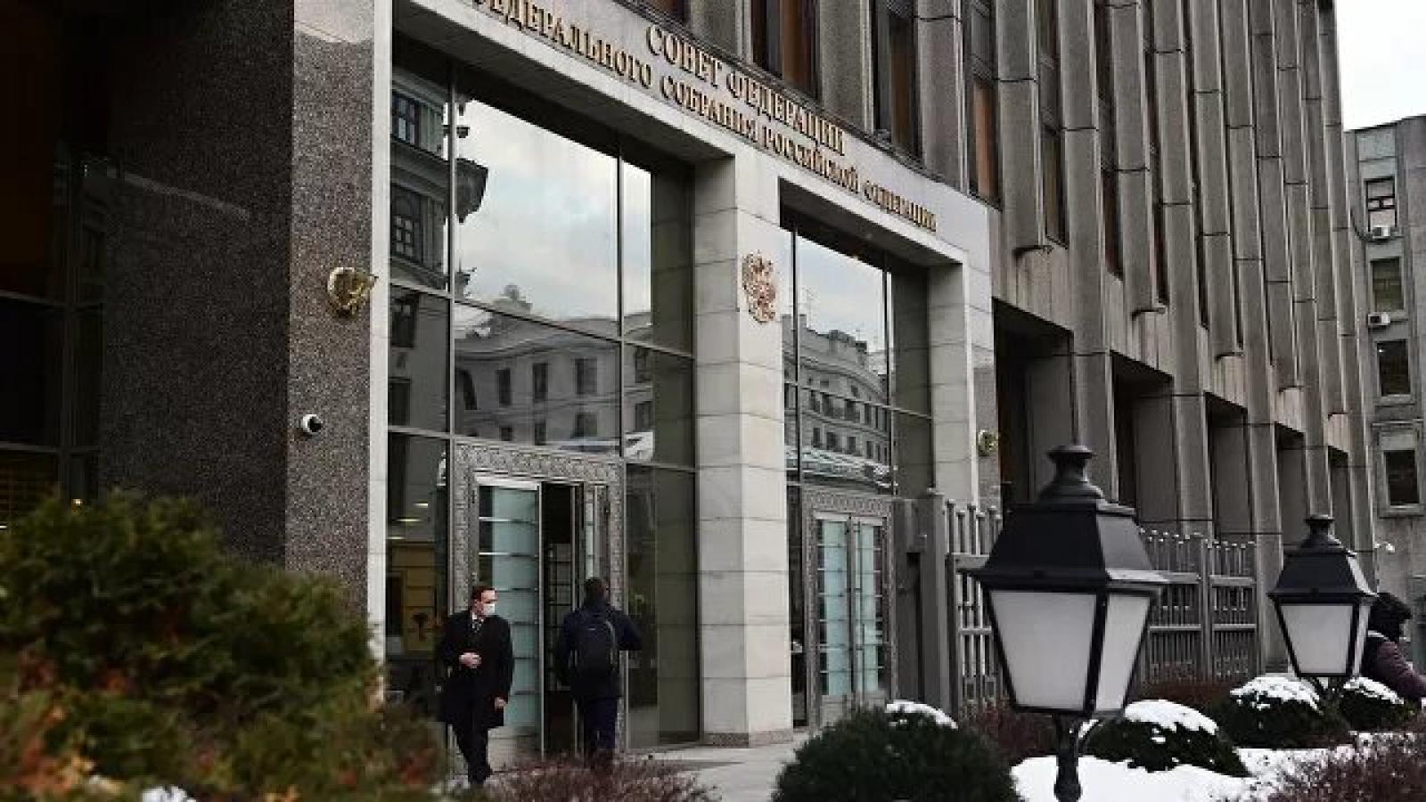 Hội đồng Liên bang Nga thông qua luật cho phép Tổng thống Putin tái tranh cử