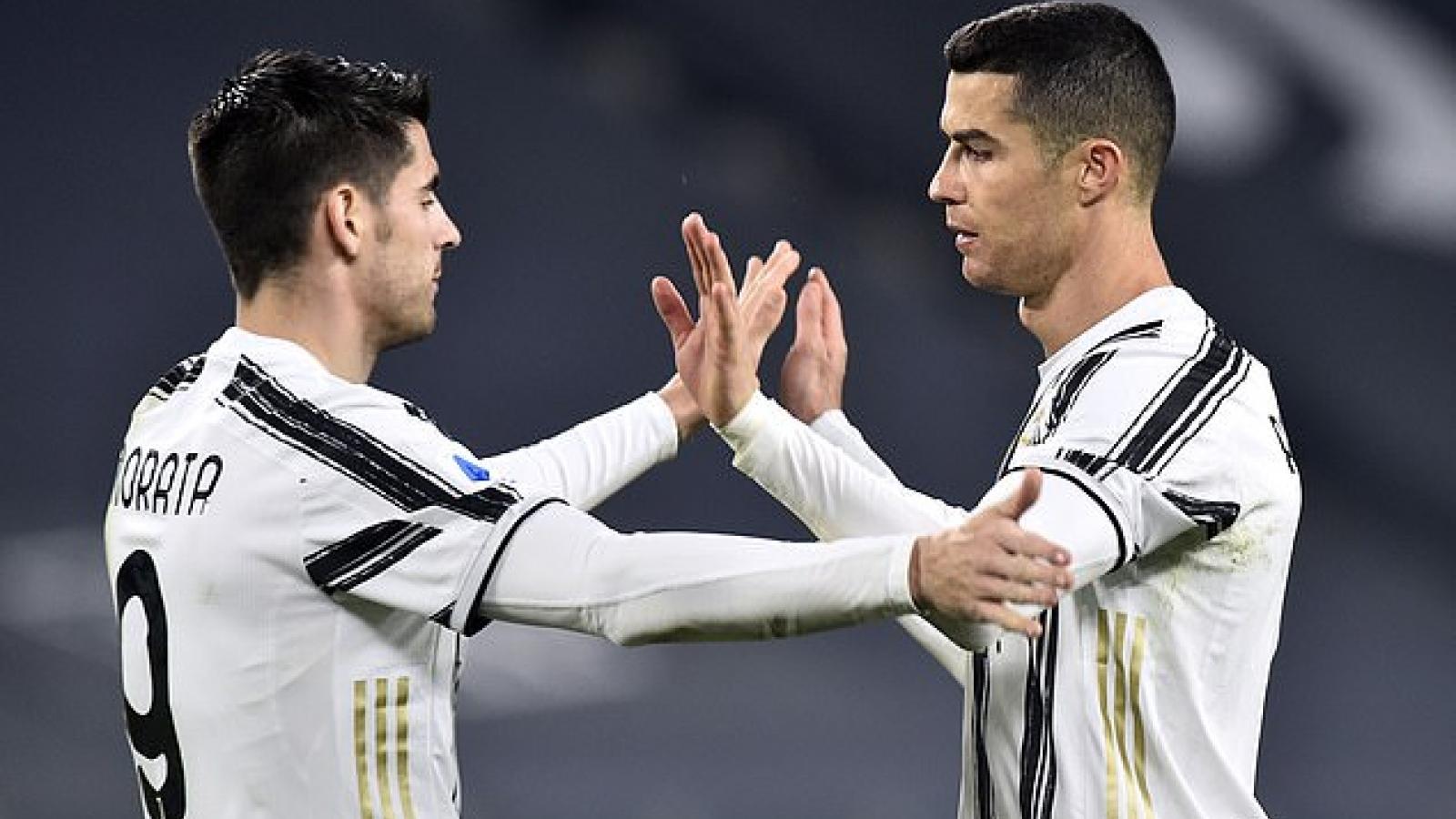 Ronaldo ghi bàn thứ 20, Juventus thắng dễ Spezia