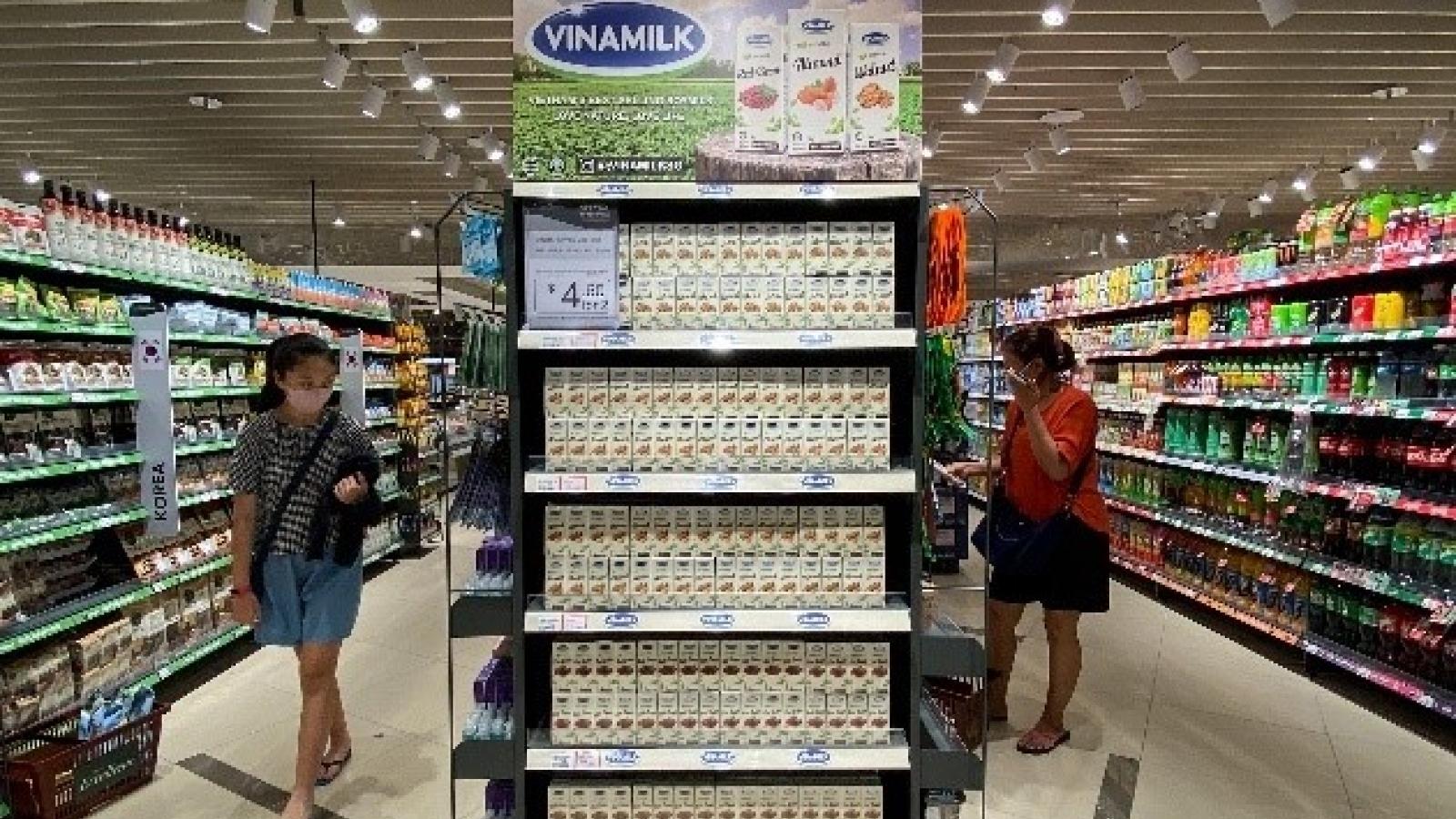 Xuất khẩu sữa tươi chứa tổ yến, Vinamilk phát triển thị trường cao cấp