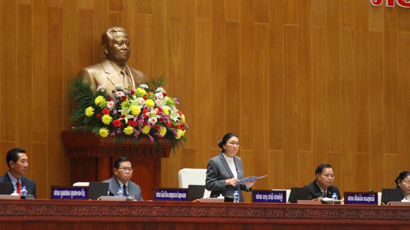Lào kiện toàn các chức danh lãnh đạo chủ chốt của đất nước nhiệm kỳ mới