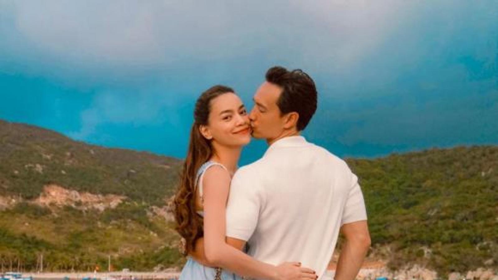 Chuyện showbiz: Hồ Ngọc Hà tình tứ bên Kim Lý giữa thiên nhiên thơ mộng