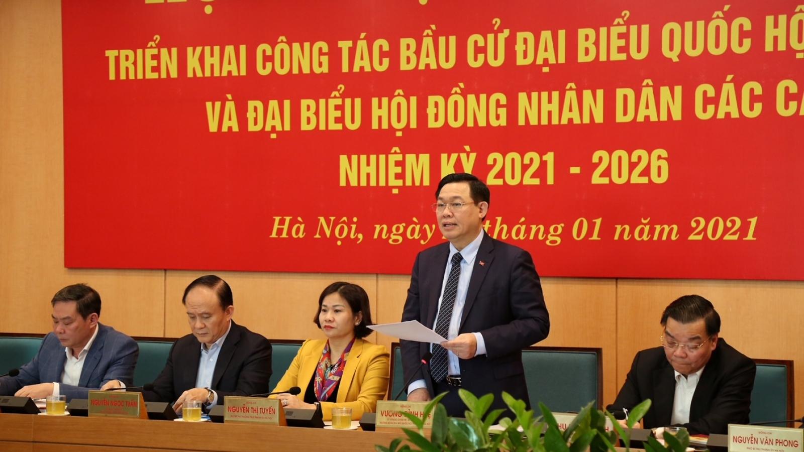 Hà Nội mở đợt cao điểmtuyên truyền về bầu cử đại biểu Quốc hội và HĐND các cấp