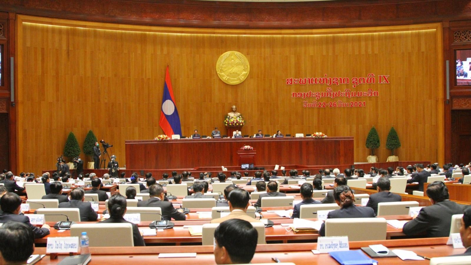 Lào khai mạc kỳ họp thứ nhất Quốc hộikhóa IX