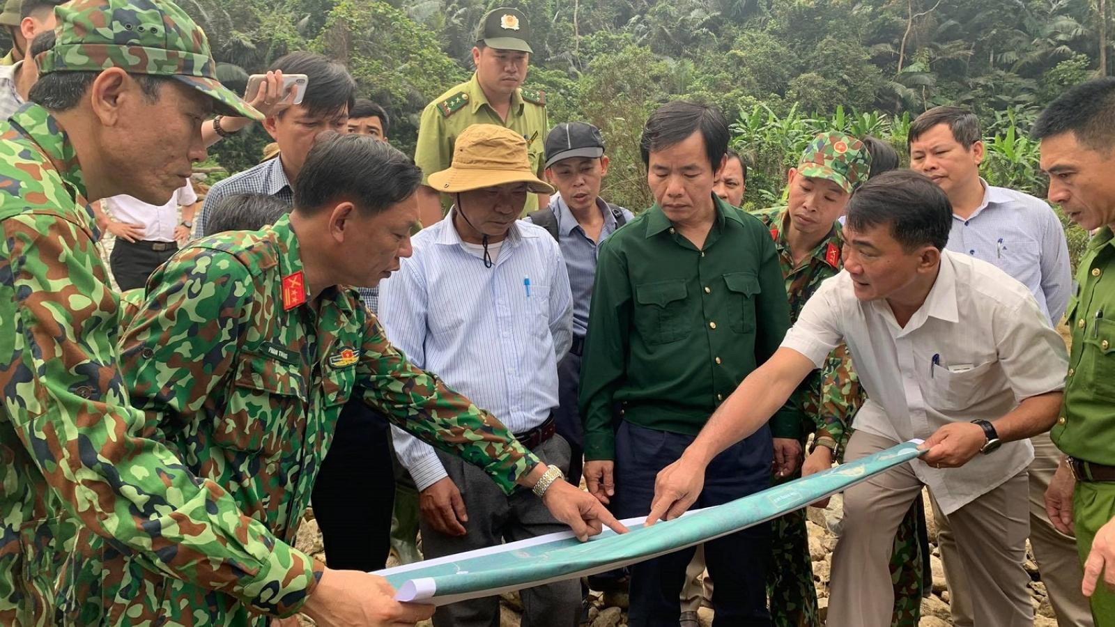 Lên phương án tìm kiếm 11 nạn nhân còn mất tích tại công trình thủy điện Rào Trăng 3