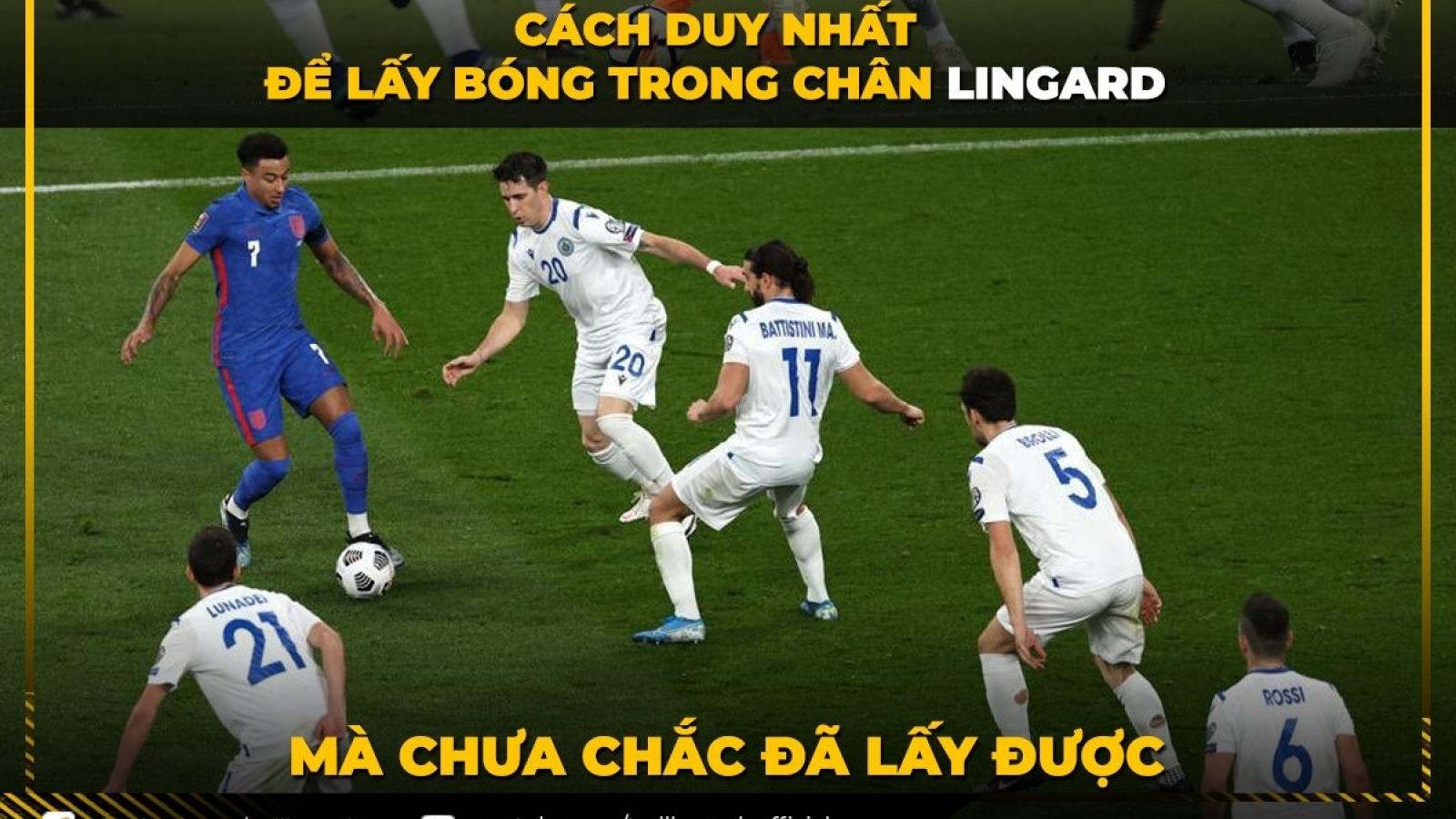 Biếm họa 24h: Lingard biến thành Messi trong màu áo ĐT Anh