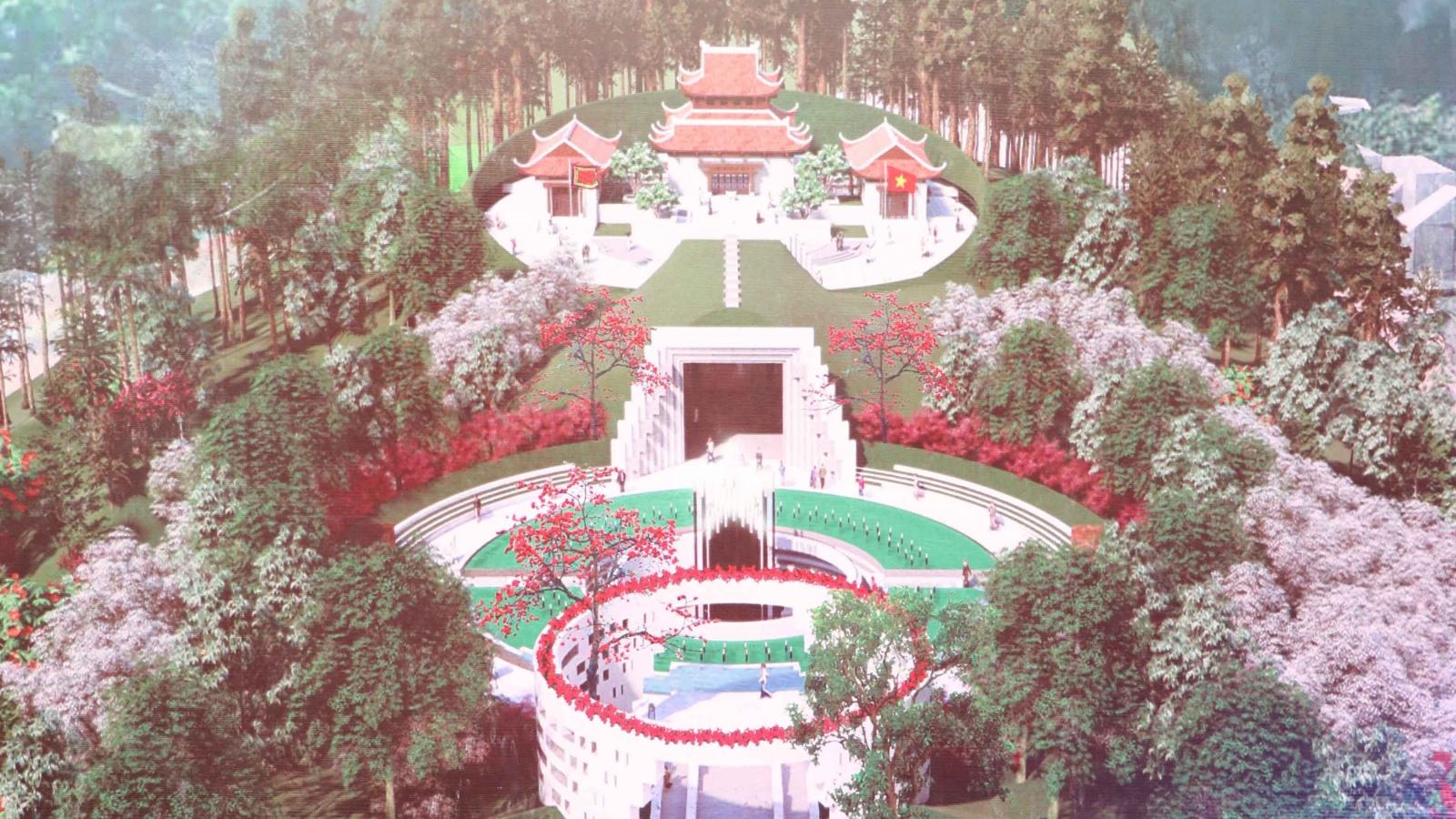 Khởi công xây dựng công trình Đền thờ Liệt sĩ tại Chiến trường Điện Biên Phủ