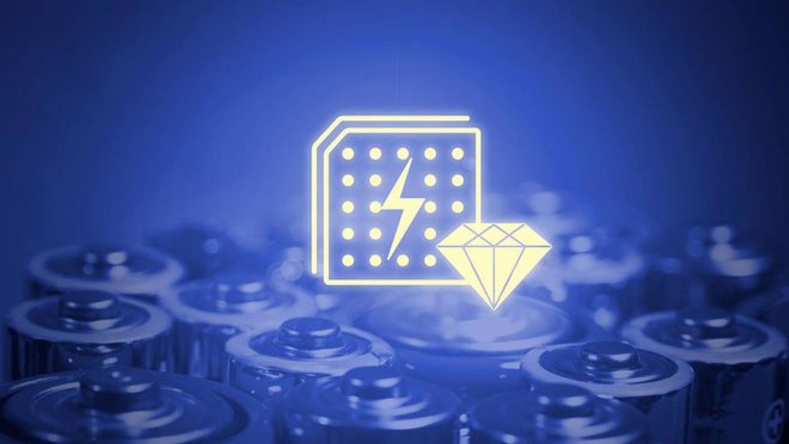 Pin kim cương hứa hẹn tạo ra điện trong 100 năm
