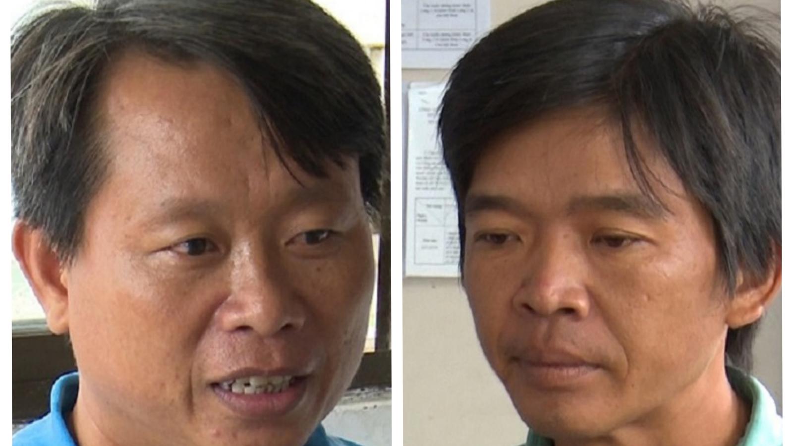 """Truy tố 2 đối tượng """"Sản xuất, buôn bán thuốc bảo vệ thực vật giả"""" tại An Giang"""
