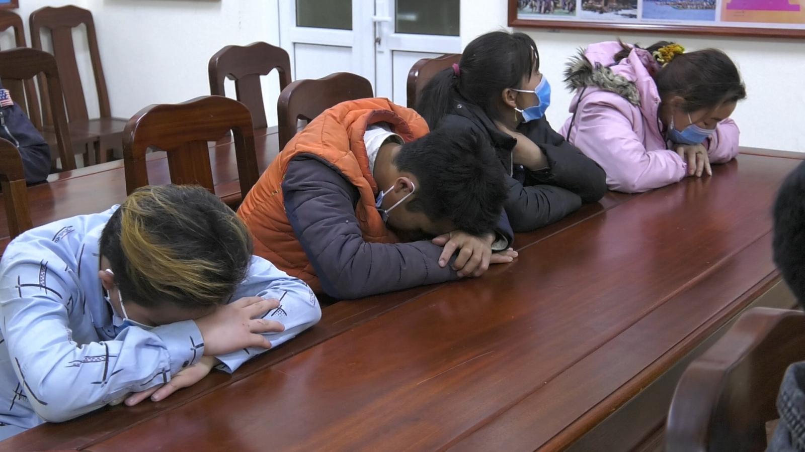 Biên phòng Lào Cai ngăn chặn 16 đối tượng vượt biên trái phép