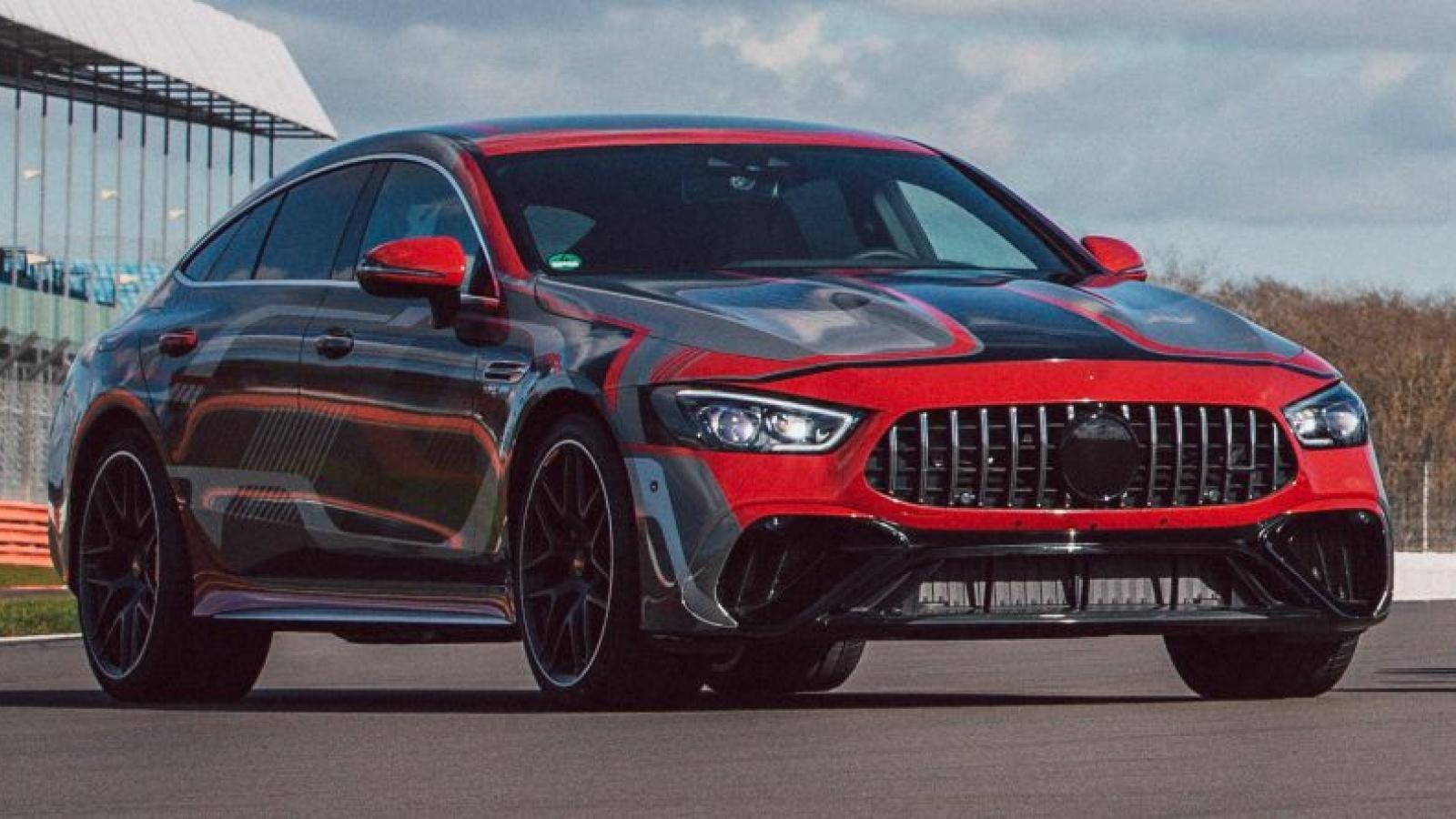 Mercedes-AMG đăng ký nhãn hiệu cho E73