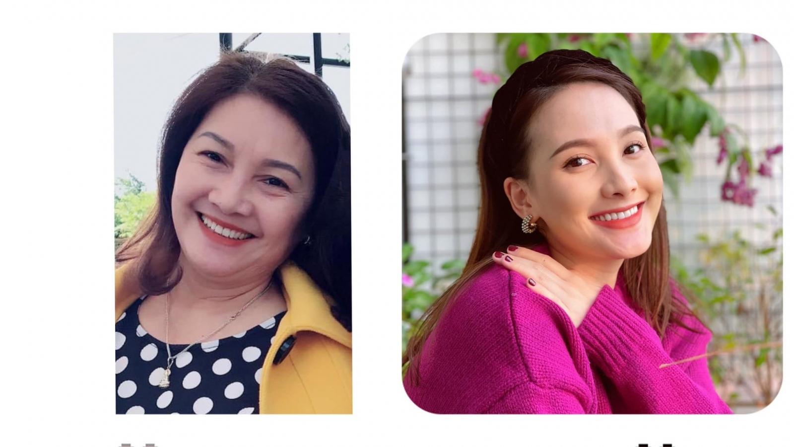 """Chuyện showbiz: Bảo Thanh tự nhận mình là Á hậu vì thua xa """"Hoa hậu mẹ"""""""