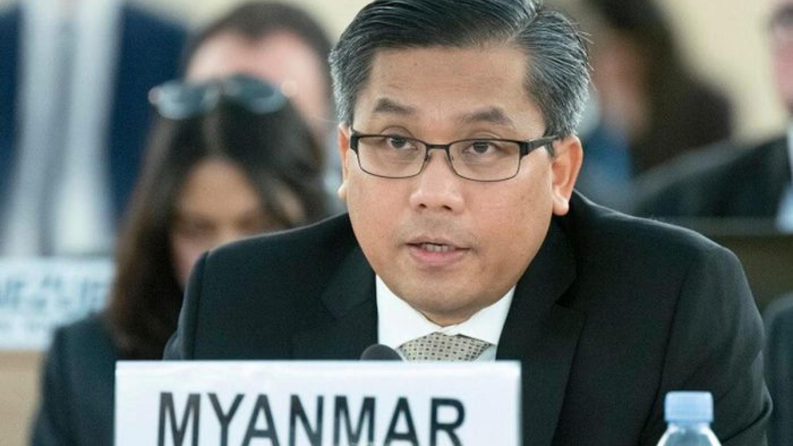 Đại sứ Myanmar tại Liên Hợp Quốc kêu gọi cộng đồng quốc tế gây sức ép với quân đội