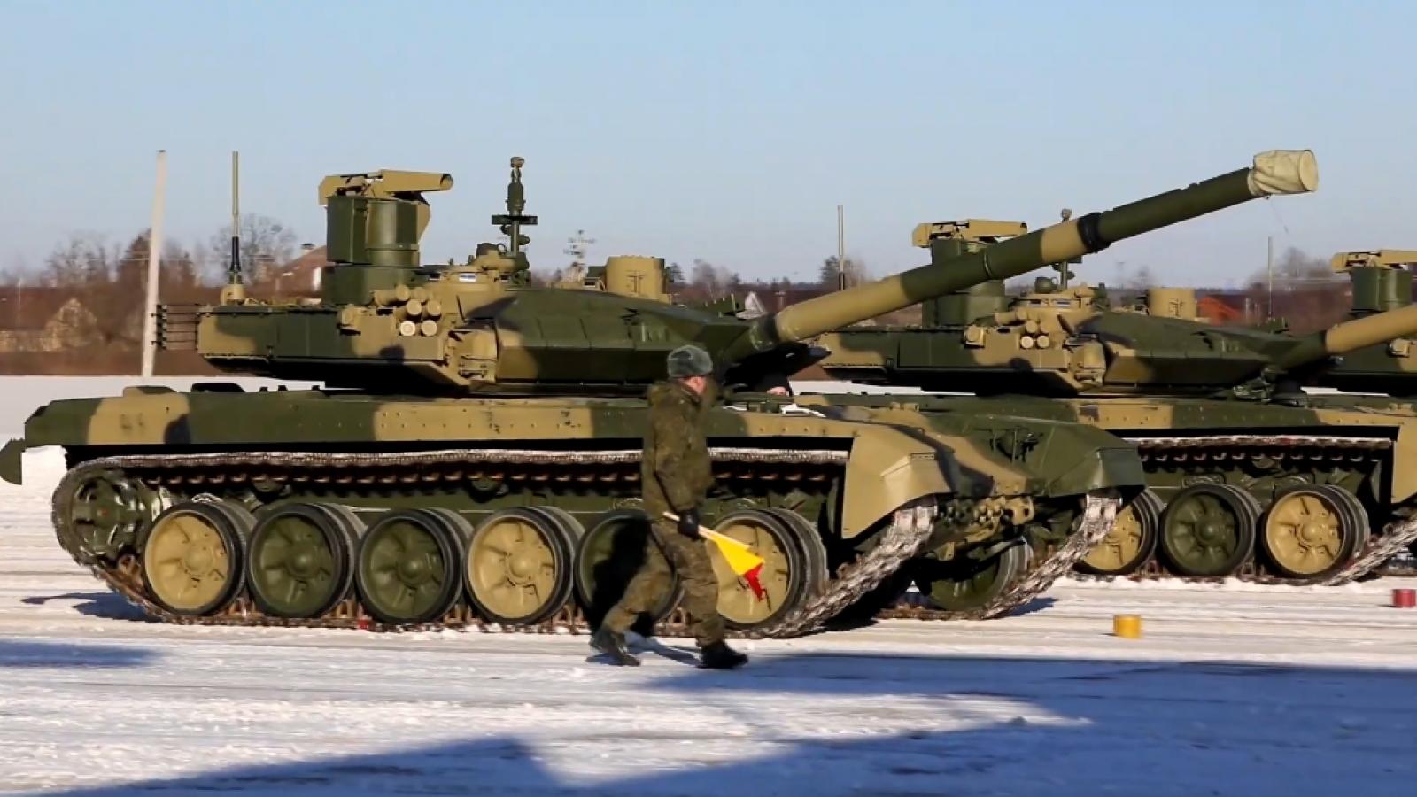Nga chính thức biên chế xe tăng chiến đấu chủ lực T-90M