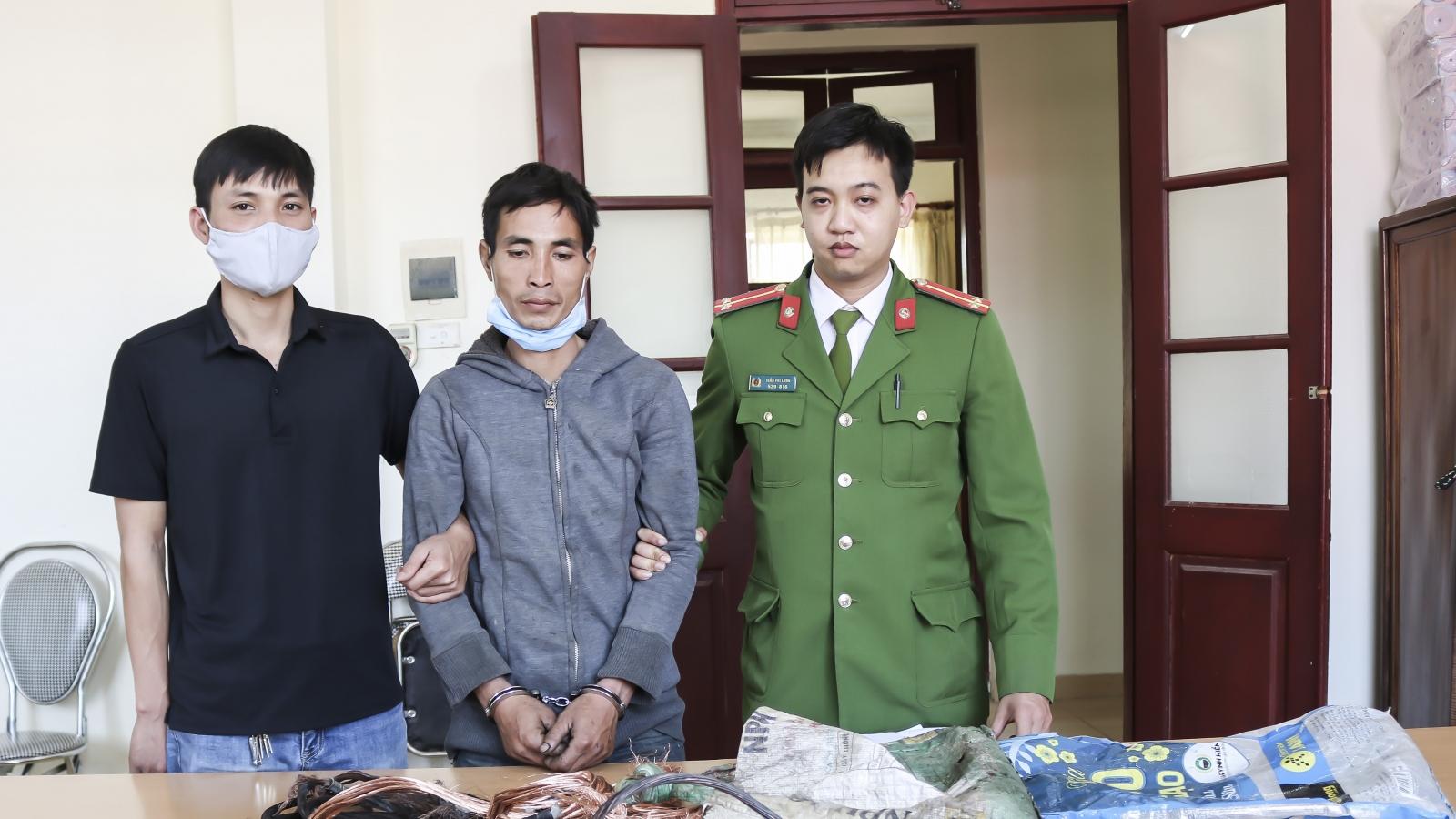 Khởi tố đối tượng trộm cấu kiện trạm biến thế tại Điện Biên