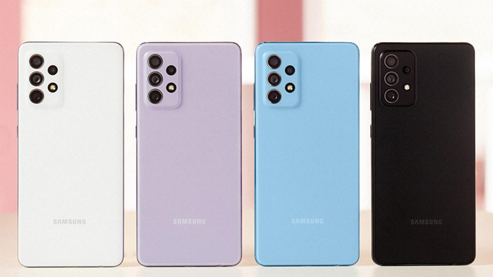 Samsung mang màn hình siêu mượt đến loạt Galaxy A mới nhất