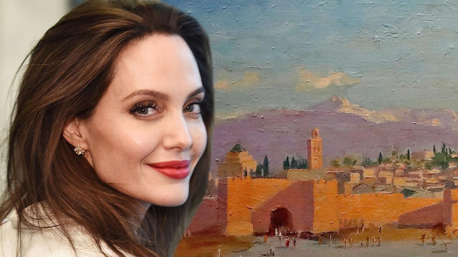 Rao bán tranh Brad Pitt tặng, Angelina Jolie thu lãi gần 200 tỷ đồng