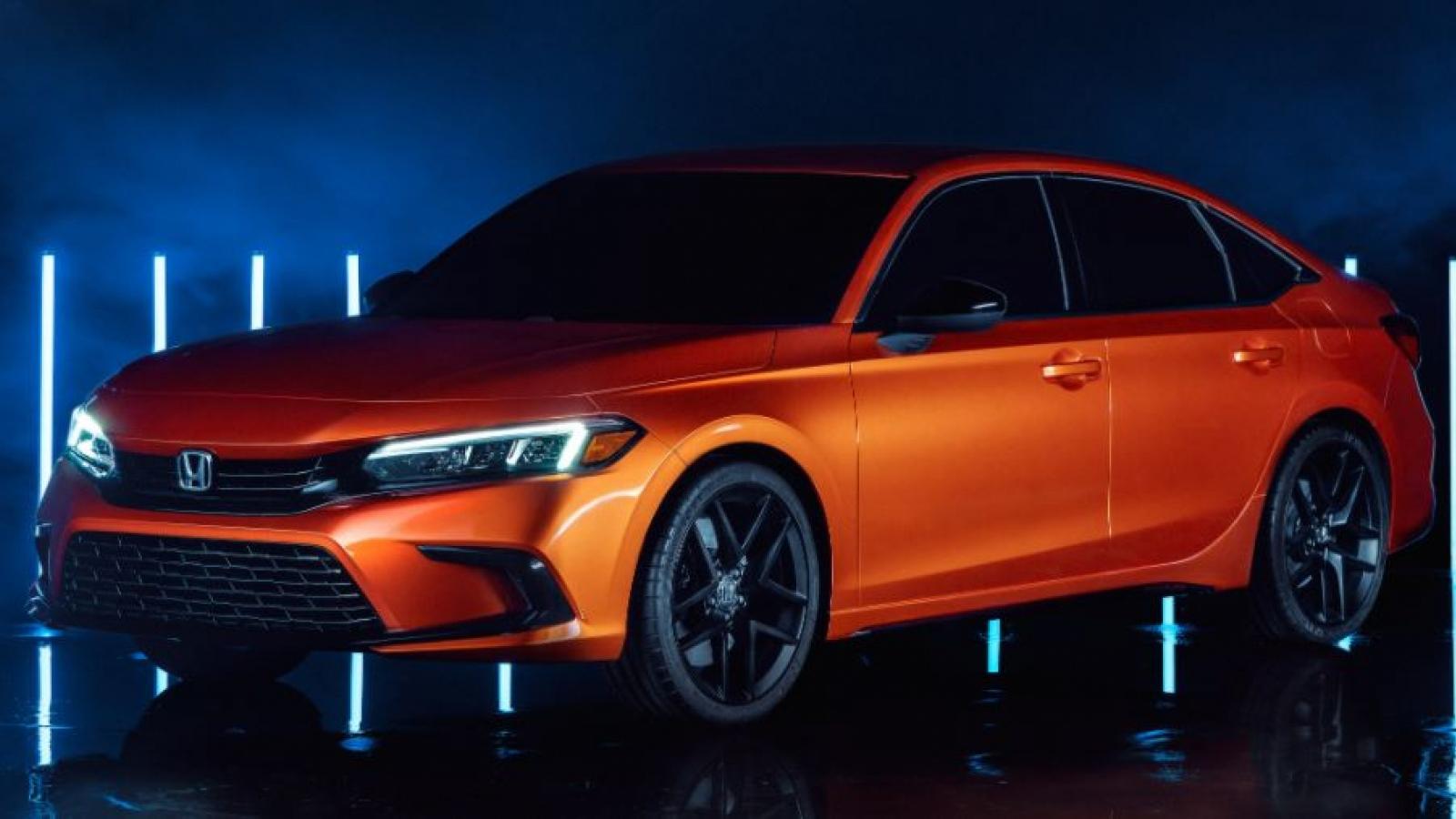 Hình ảnh Honda Civic 2022 bắt đầu đi vào sản xuất