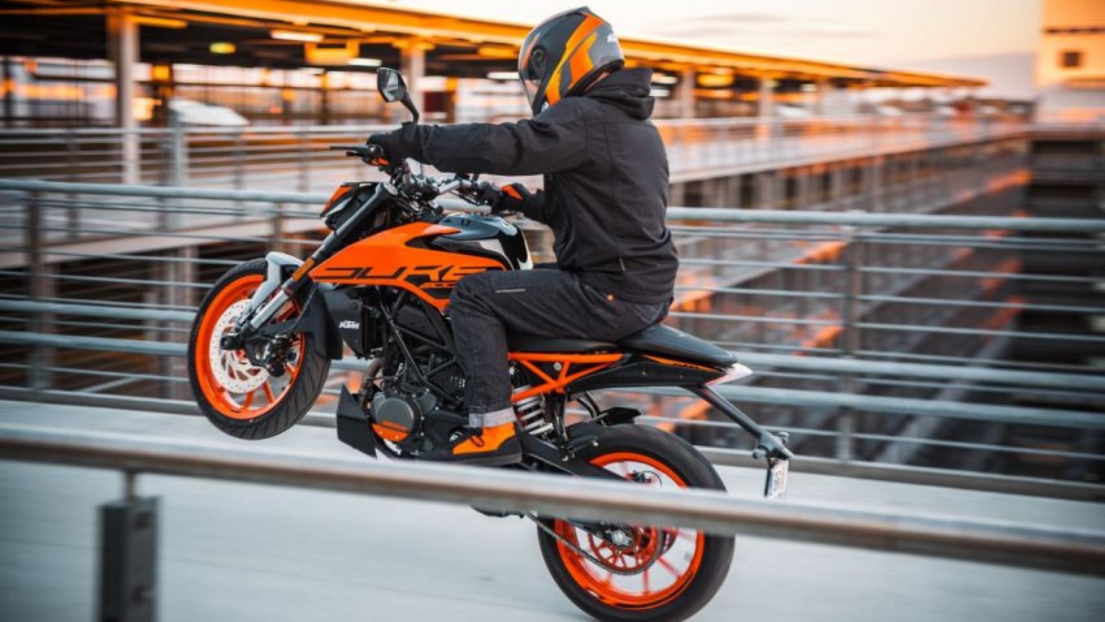 KTM Duke 200 2021 chính thức ra mắt