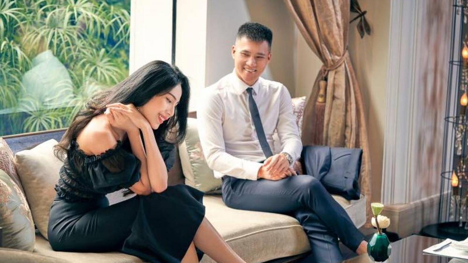 Chuyện showbiz: Thủy Tiên phản ứng khi ông xã Công Vinh bị xúi nên có 2 vợ