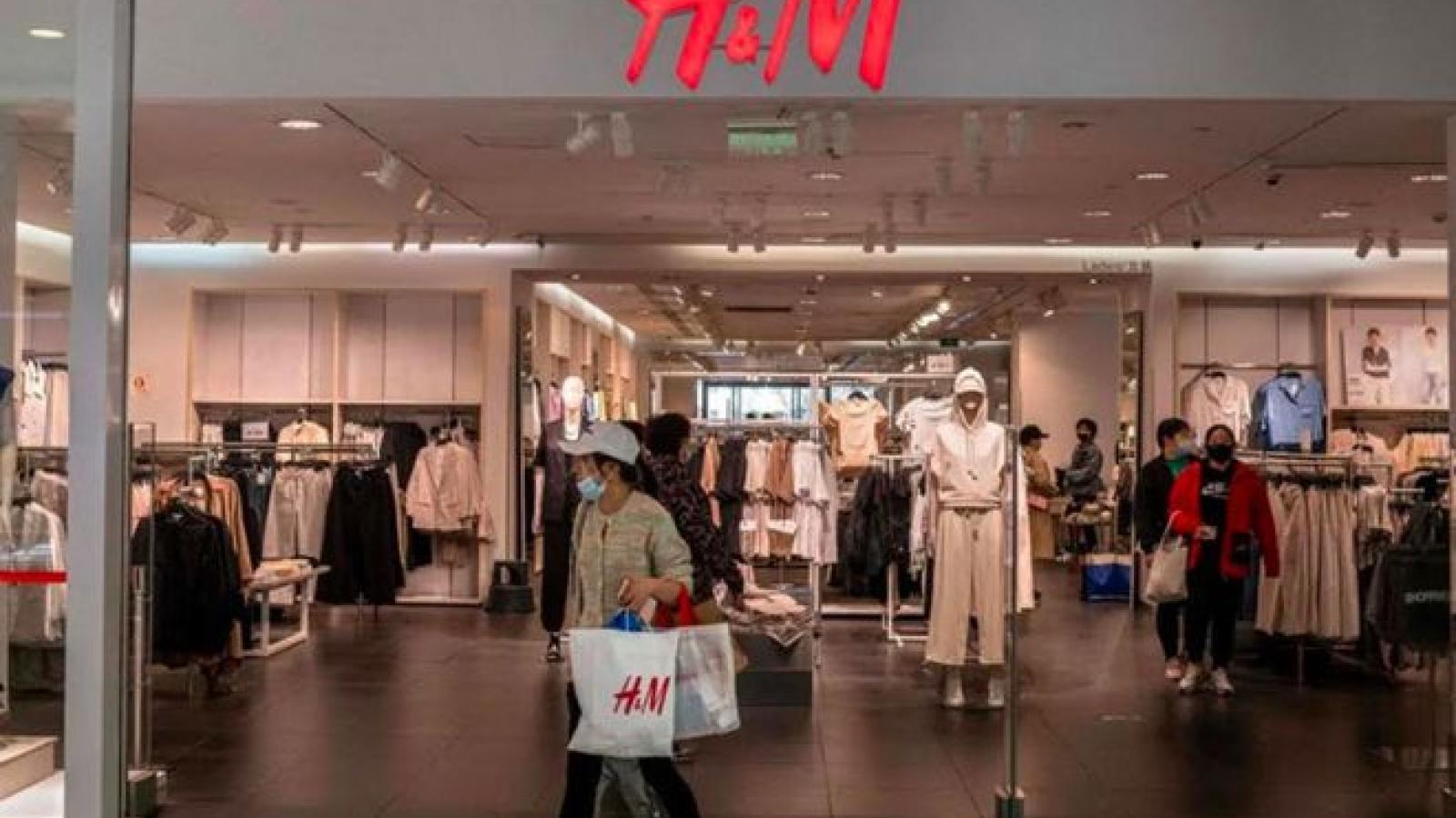 'Big Tech' Trung Quốc xóa H&M khỏi nền tảng trực tuyến