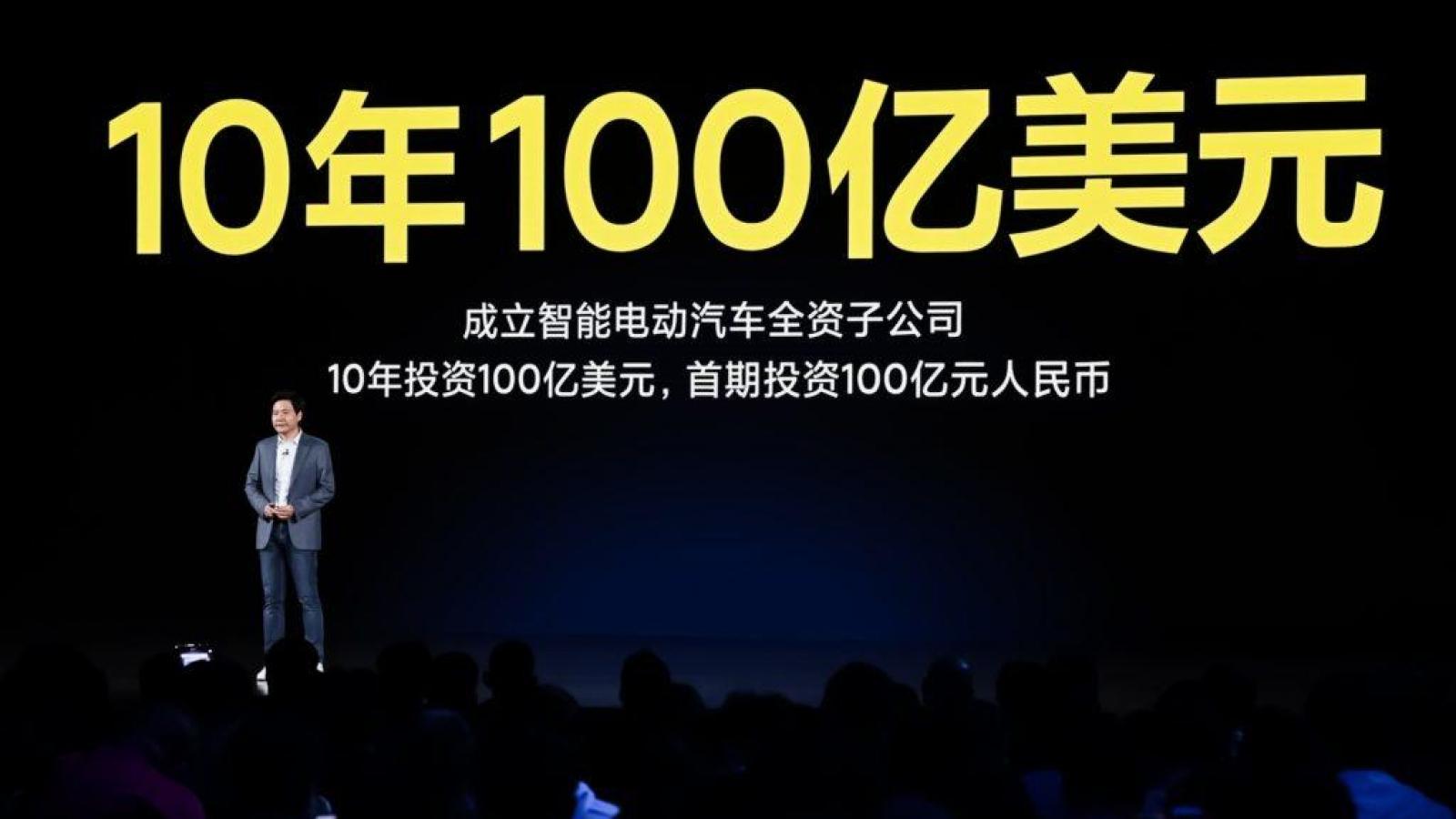 Xiaomi chi đậm 10 tỷ USD cho ô tô điện trong 10 năm