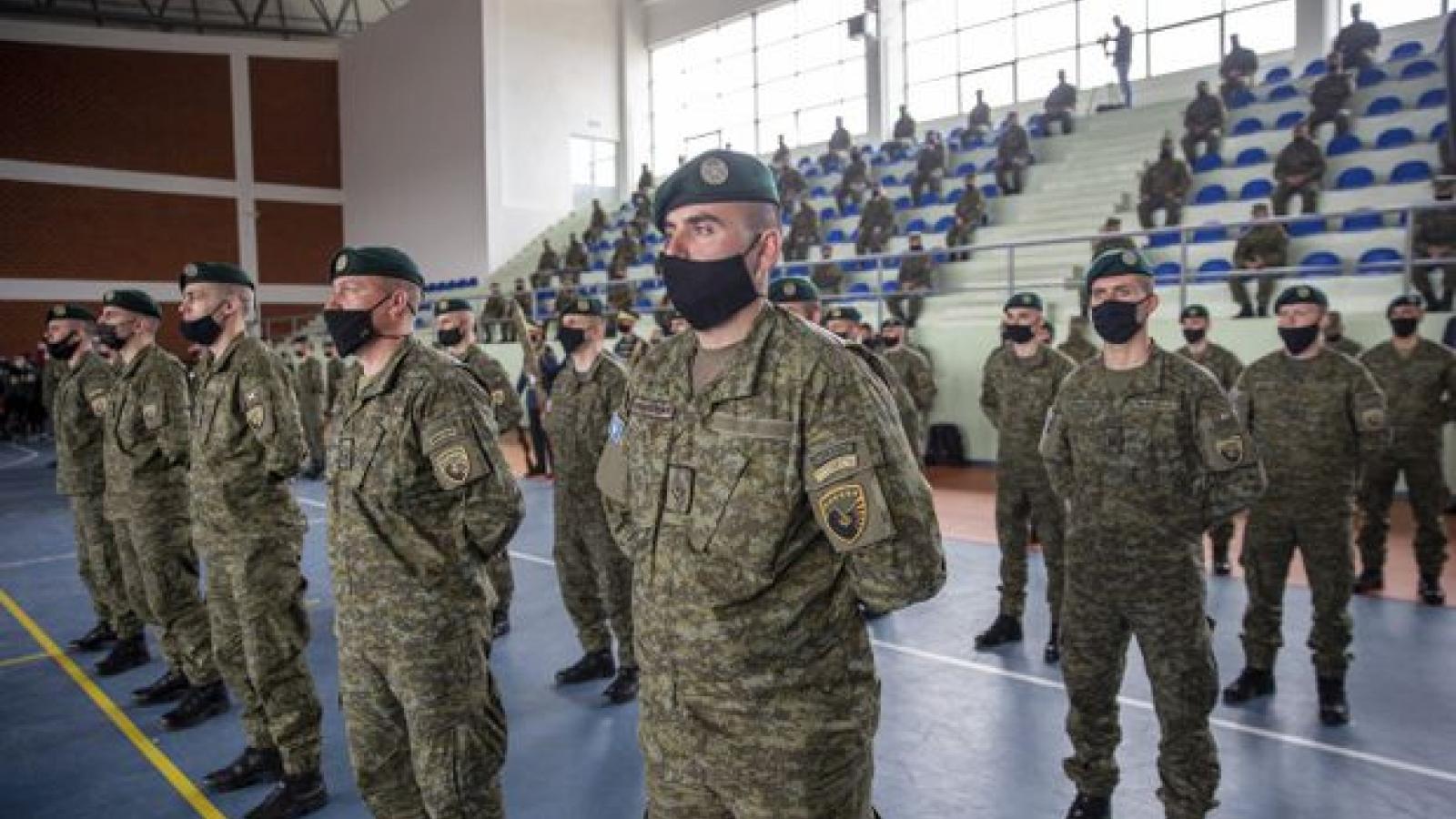 Kosovolần đầu gửi quân tham gia sứ mệnh gìn giữ hòa bình quốc tế