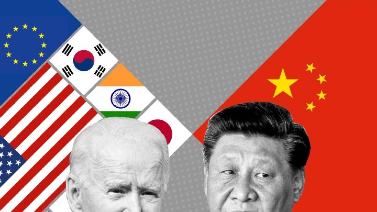 Ván cược lớn đối phó với Trung Quốc của Biden: Đồng minh liệu có đồng lòng?