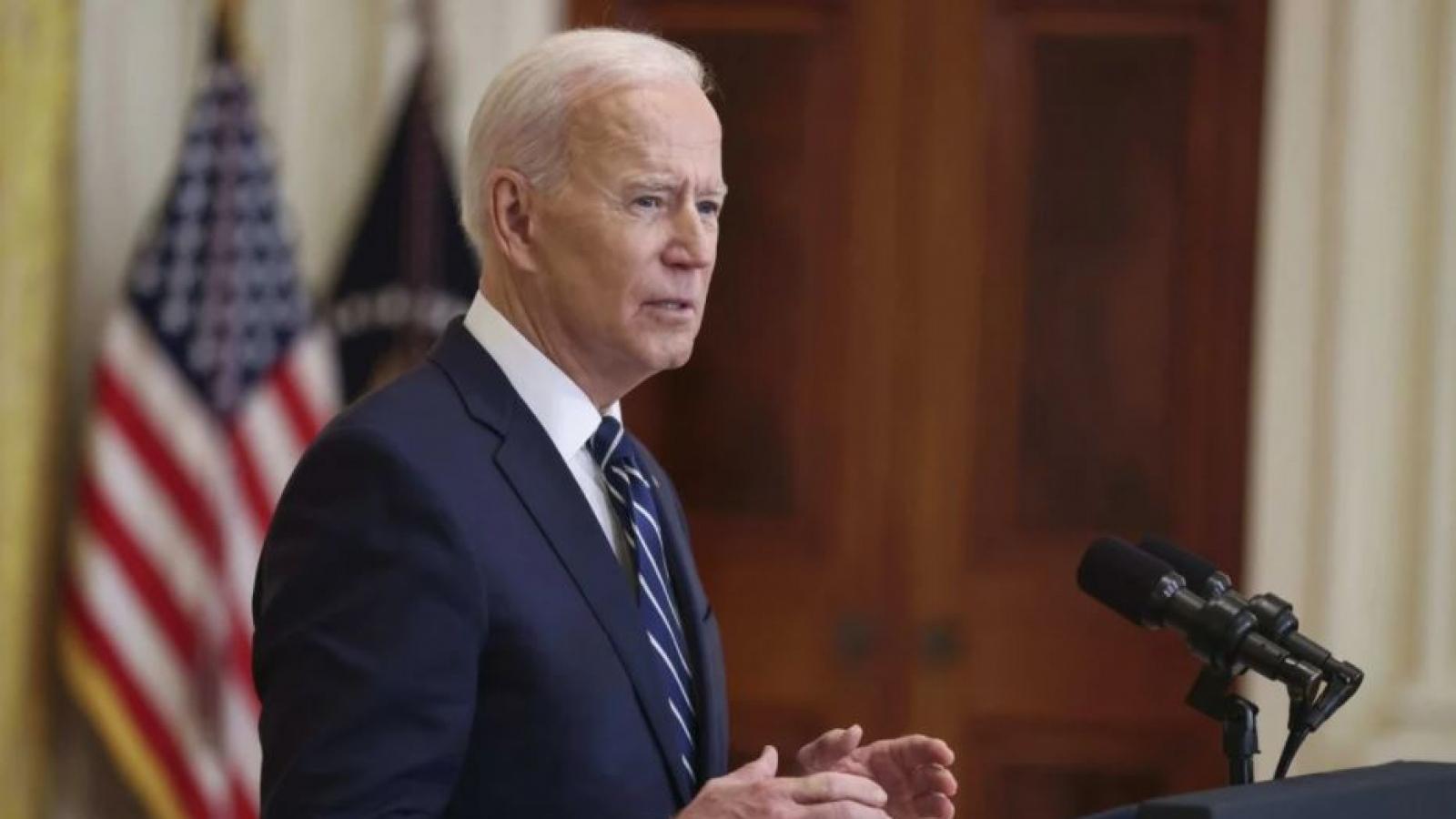 """Biden tuyên bố sẽ ngăn Trung Quốc thành nước """"dẫn đầu và giàu nhất thế giới"""""""
