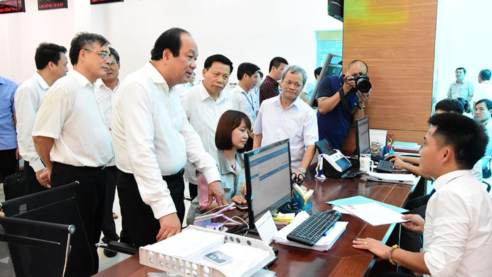 Cải cách thủ tục hành chính - Dấu ấn nổi bật trong nhiệm kỳ 2016-2021 của Chính phủ