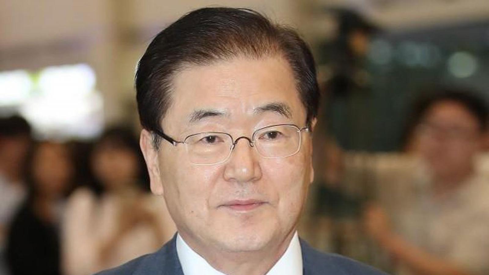 Hàn Quốc khẳng định sẽ tích cực thúc đẩy hợp tác với Triều Tiên