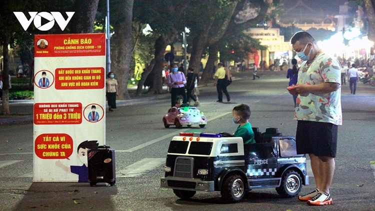 Hanoi capital reopens weekend pedestrian streets in Old Quarter