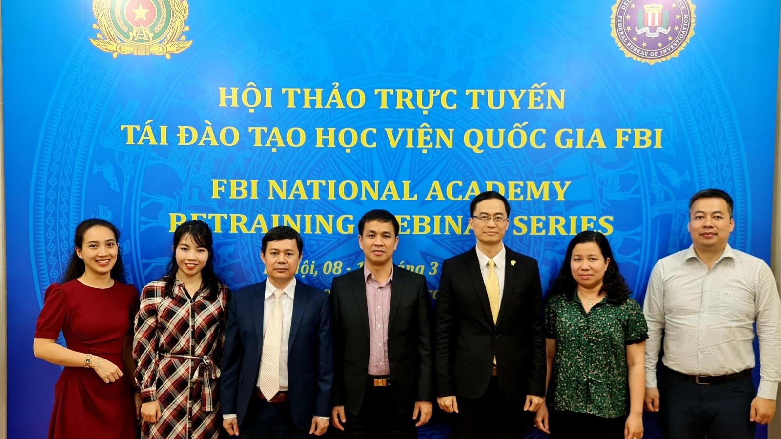 Việt Nam- Hoa Kỳ tổ chức hội thảo trực tuyến về tội phạm xuyên quốc gia