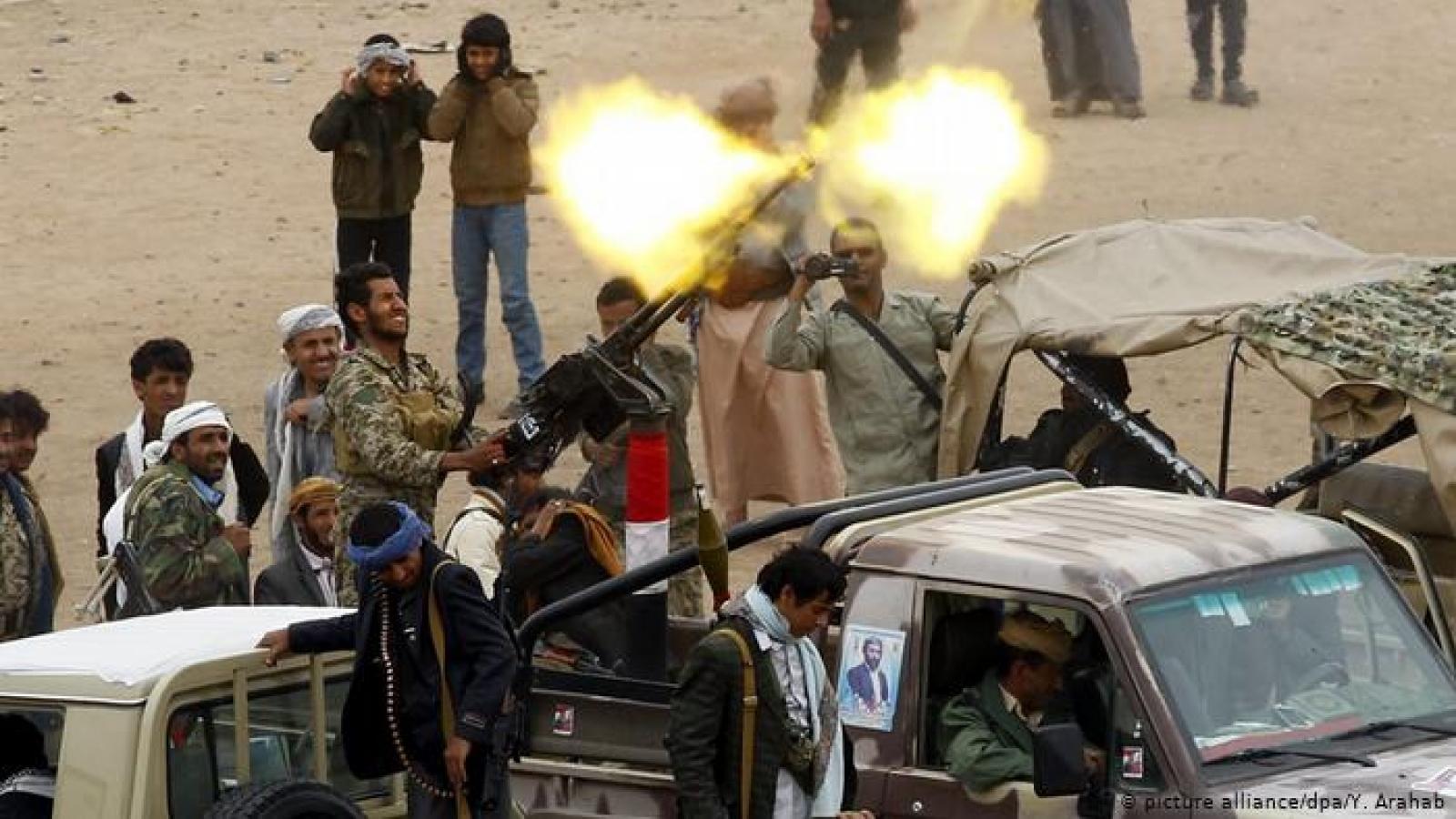 Lực lượng Houthi tấn công sân bay quốc tế Abha của Saudi Arabia