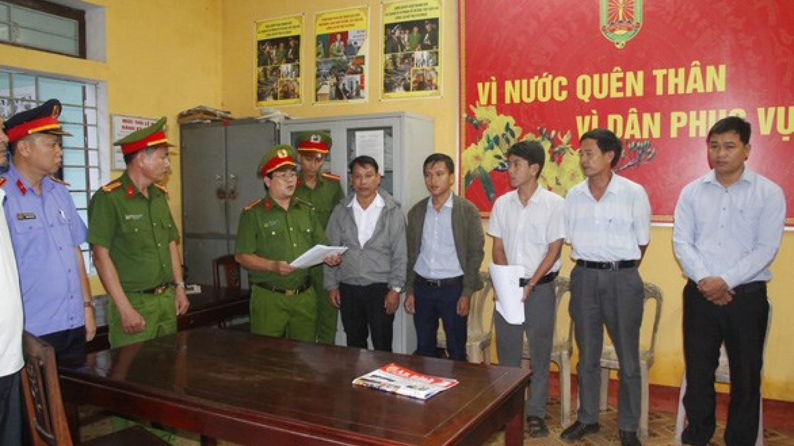 Huế khởi tố, bắt tạm giam nguyên Giám đốc Văn phòng Đăng ký đất đai