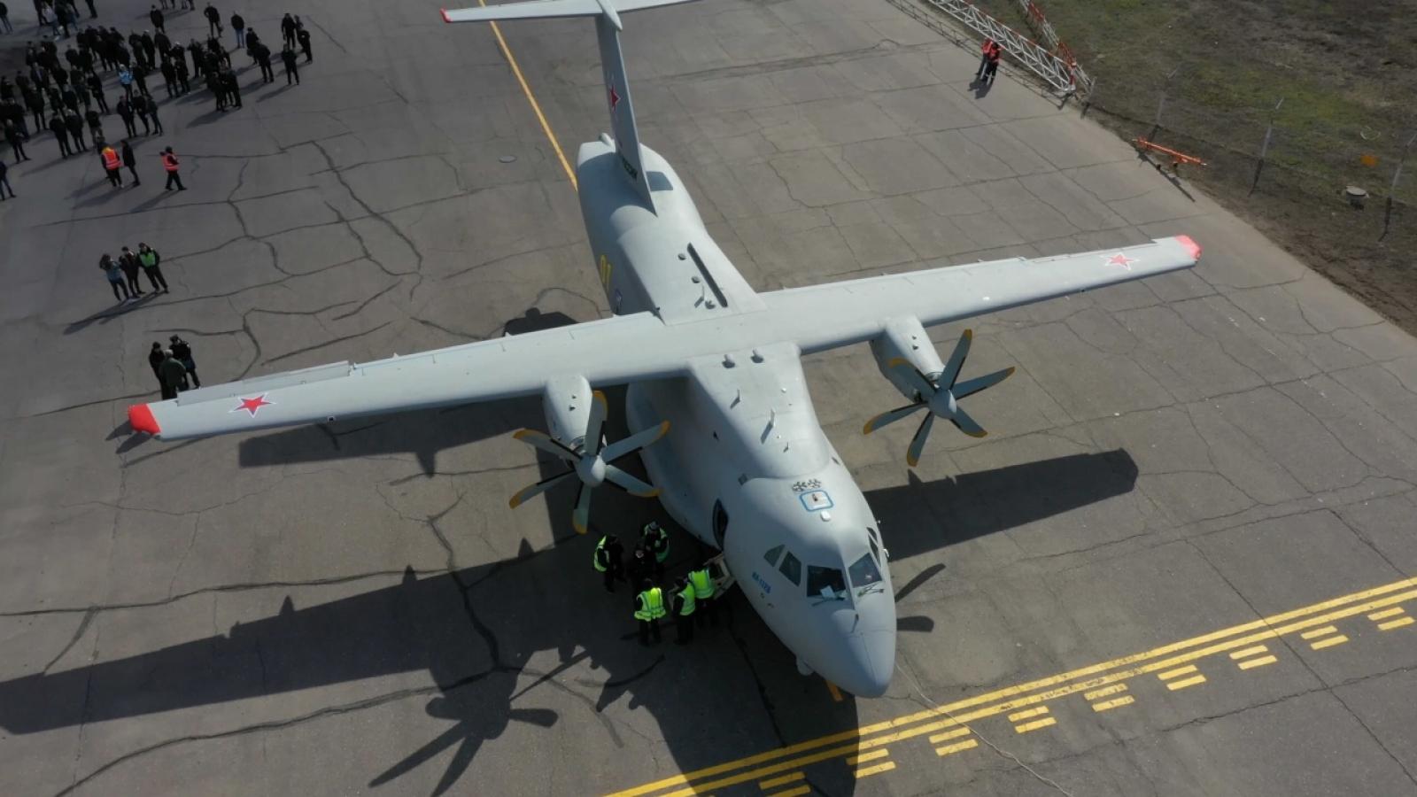 Máy bay vận tải IL-112V của Nga thực hiện thành công chuyến bay thứ 2