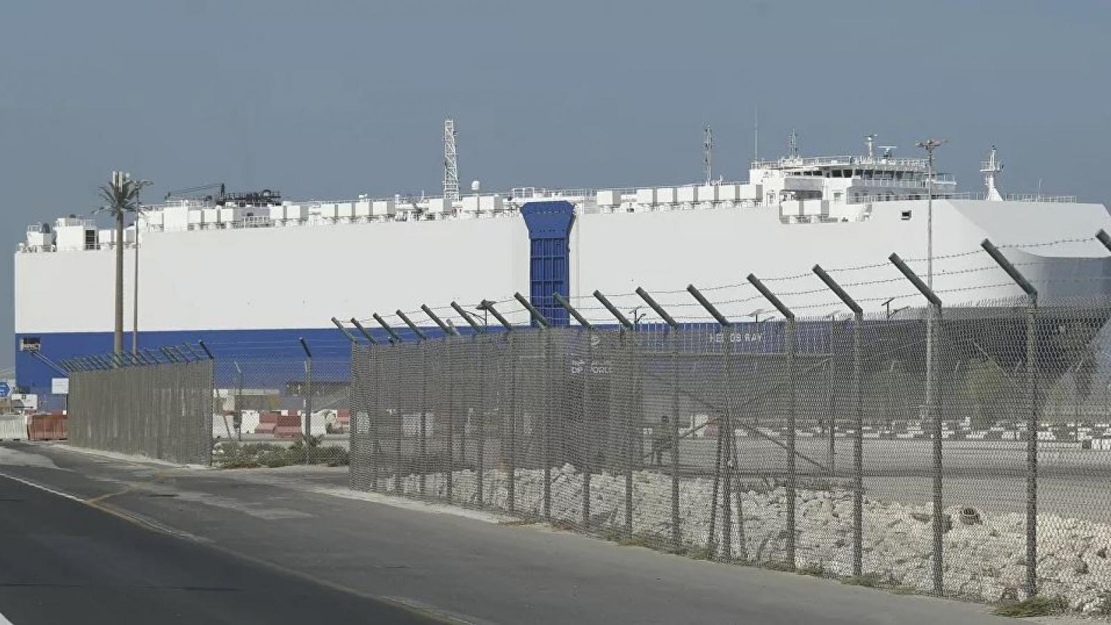 """Thủ tướng Netanyahu """"chỉ đích danh"""" Iran đứng sau vụ nổ trên tàu Israel ở Vịnh Oman"""