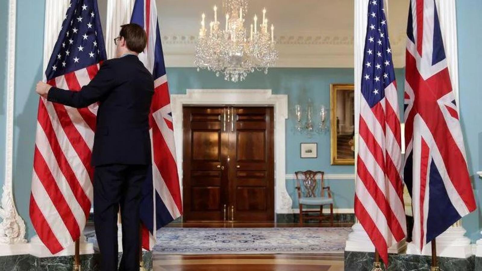 Mỹ và Anh ra tuyên bố chung về hợp tác chống biến đổi khí hậu