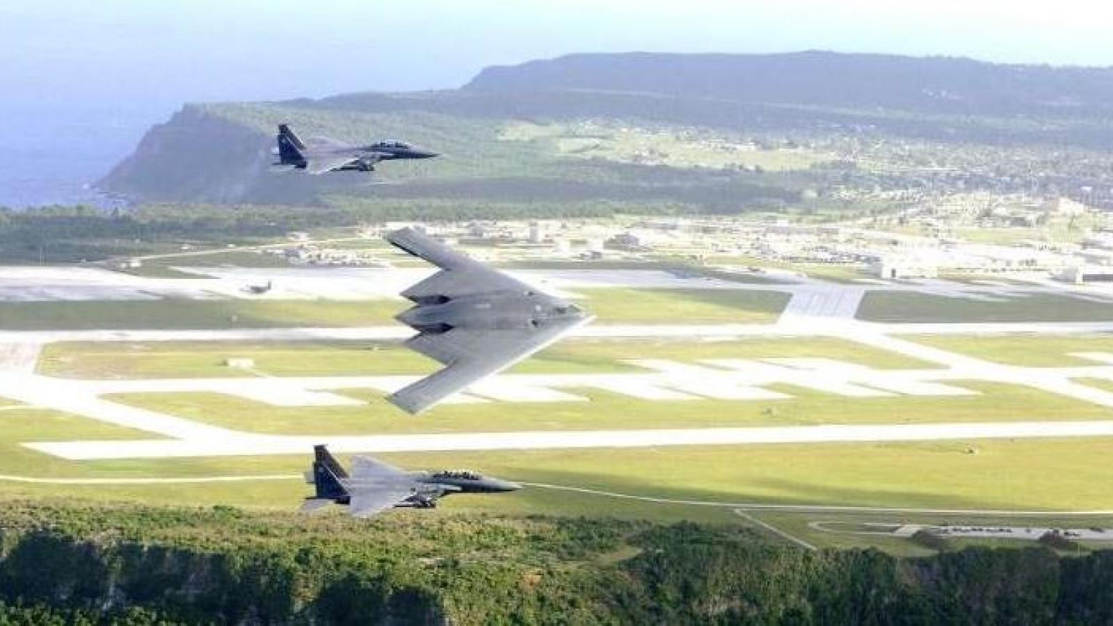 Đô đốc Mỹ: Bất kỳ tham vọng và đe dọa nào của Trung Quốc với Guam đều phải trả giá
