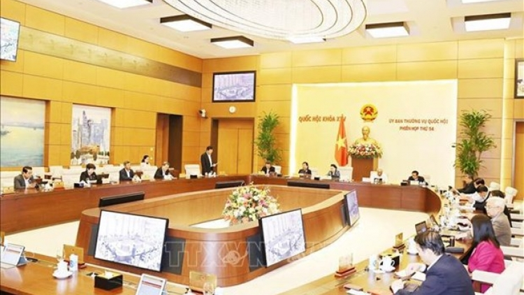 NA Standing Committee's 54th session concludes
