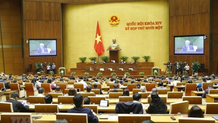 Fourth working day of 14th National Assembly's 11th session