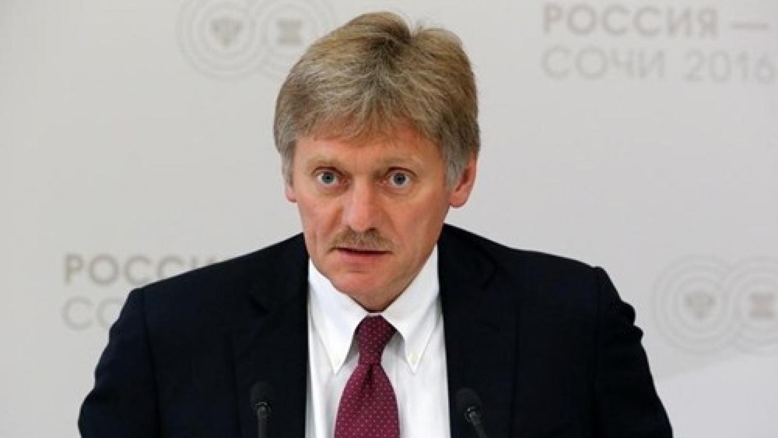Điện Kremlin bác bỏ có thông tin về kế hoạch hòa giải ở Donbass